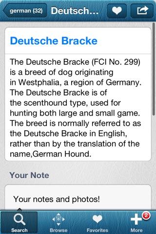 1,337 Dog Breeds,Veterinary screenshot 2