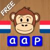 Spelling with Chimpy Dutch Free - Reading and writing words