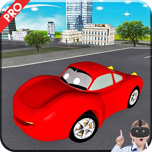 VR Crazy Kids Car Driving Pro iOS App