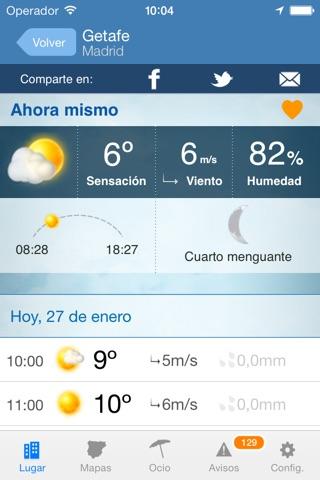 Tiempo y Temperatura screenshot 2