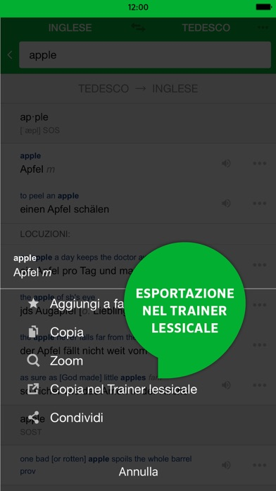 Traduttore pons online sull 39 app store for Traduttore apple