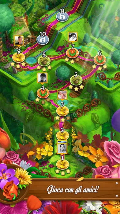 Screenshot of Blossom Blast Saga4