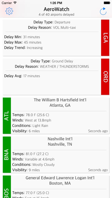 download AeroWatch - FAA Airport Status apps 0