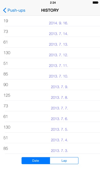 Captura de pantalla de l'iPhone 2