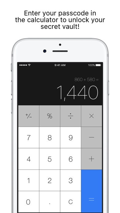 download Secret Calculator + Private photo and video vault appstore review