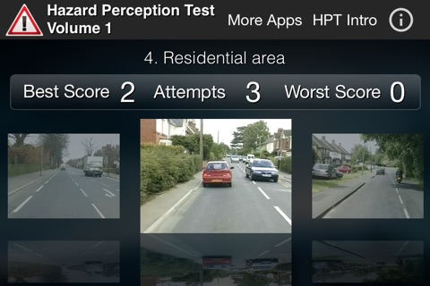 Hazard Perception Test Volume 1 screenshot 2