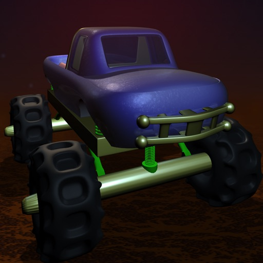 Mega Monster Truck Road Racer - new virtual fast shooting game