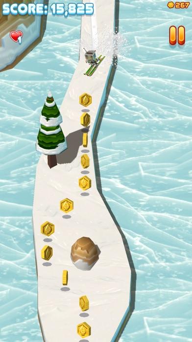 Toodle's Toboggan: Wintery Slopes Screenshot