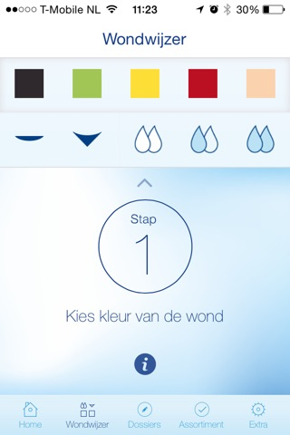 Wondwijzer screenshot 2