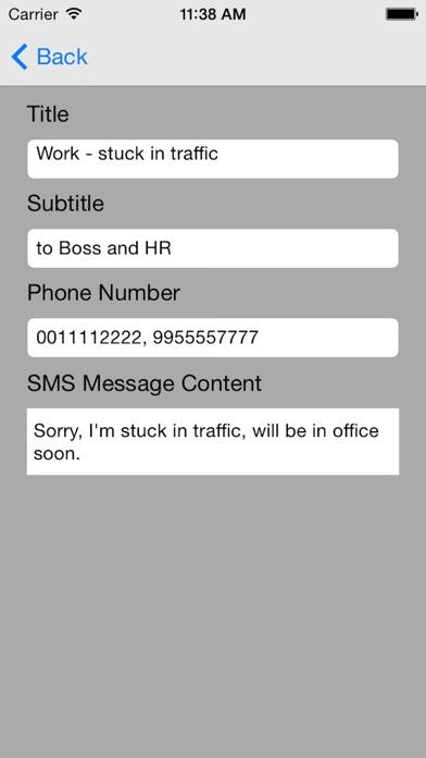 Screenshot for QuickSMS in Denmark App Store