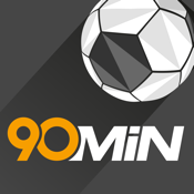 90min - Live Soccer Scores, News & Schedules icon