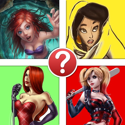 Cartoon Hotties Pic Quiz - The Hottest Cartoon Characters of All Time iOS App