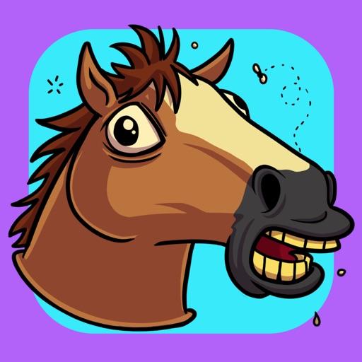 Jumping Horse Head Running Arcade Game iOS App