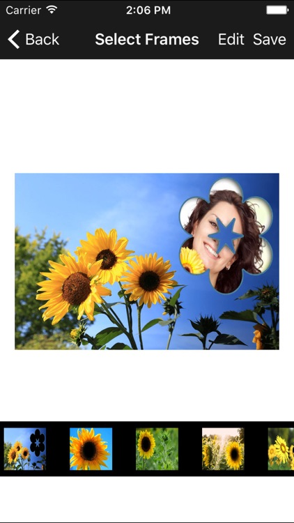 latest best sunflower photo frames photo editor
