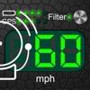 ドメーター + 制限速度の警告