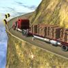 Construction Transport truck 3D simulator at hill climb driver racing Euro- truck games
