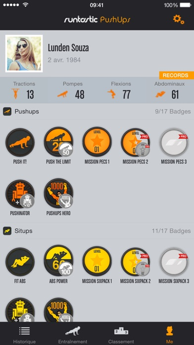 download Runtastic Push Ups PRO. Pompes apps 3