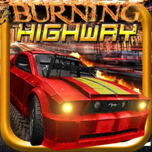 Burning Highway ( 3D Car Shooting Games )