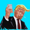 salma akter - Donald Trump Funny Comic Emoji  artwork