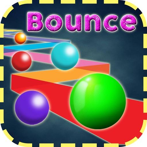 "Ball Bounce ""Jumping Ball"" Icon"