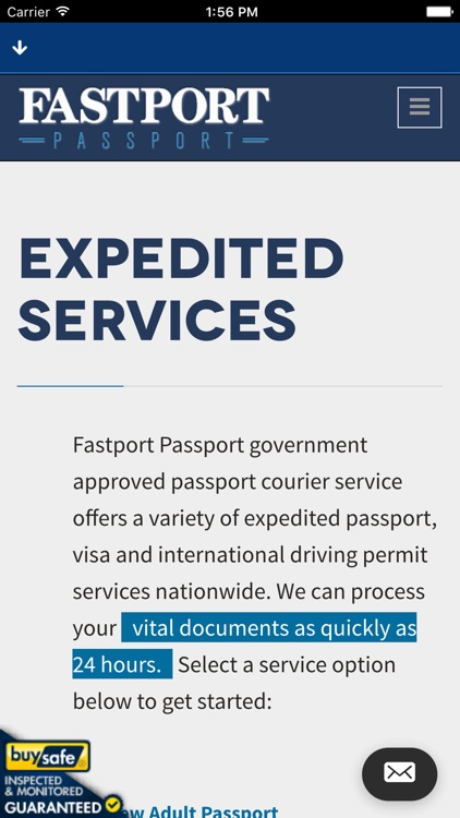 Fastport Passport - Fast Passport & Visa Service by Vital Docs LLC