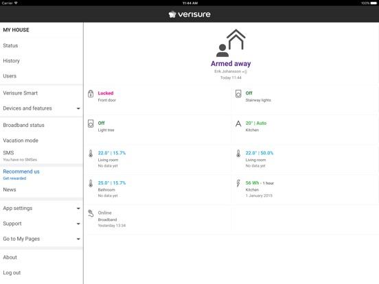 verisure app insight download. Black Bedroom Furniture Sets. Home Design Ideas