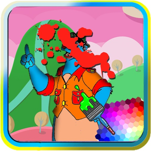 Coloring For Kids Game Talespin Version iOS App