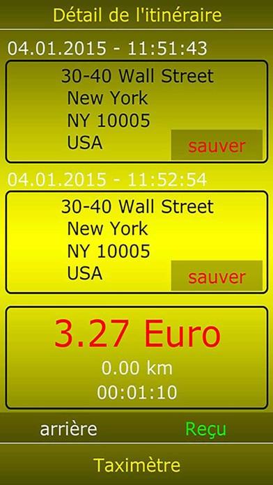 Taximètre numériqueCapture d'écran de 4