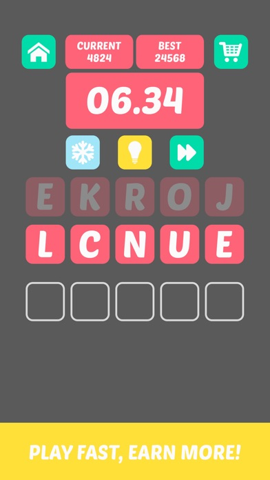 20 Seconds - Word Game Screenshot