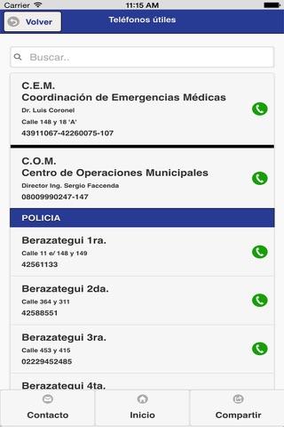 Berazategui Municipalidad screenshot 3
