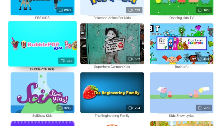 Kidz tube for Youtube Screenshots