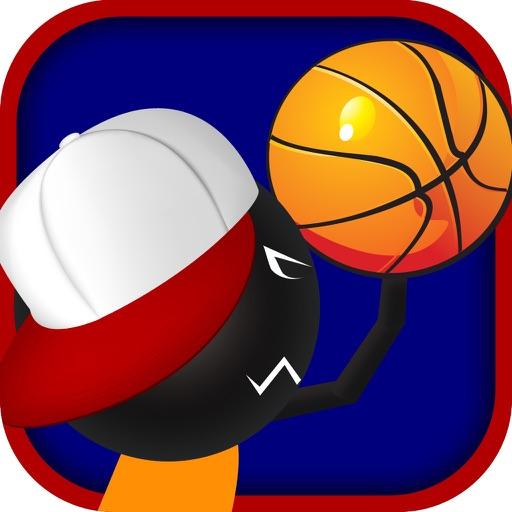 Real Stickman Basketball PRO - Perfect Stick Man Free Throw Showdown iOS App