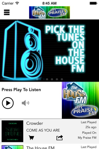 The House FM / My Praise FM screenshot 1