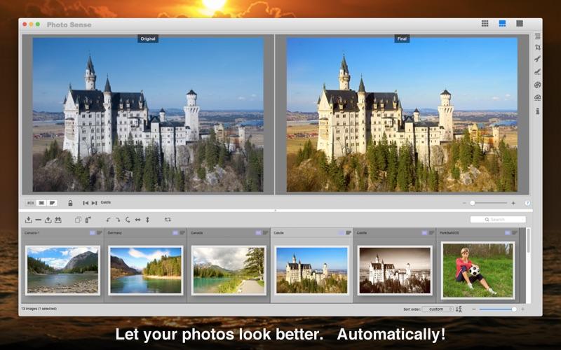 Photo Sense 2.1 for Mac - Efficient Bulk Photo Post-Processing Image