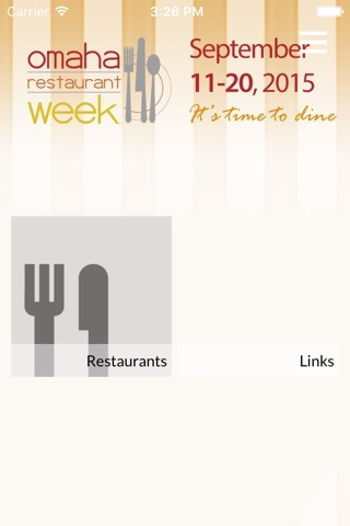 Omaha Restaurant Week screenshot 2