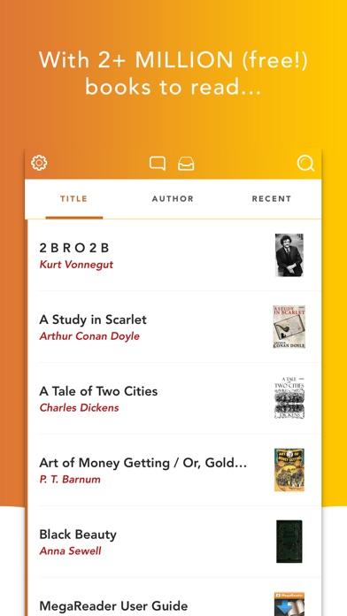MegaReader - 2+ Million Free Books Screenshot 2