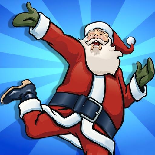 Santa on Dancing Beat : Fun Run Juju Edition iOS App
