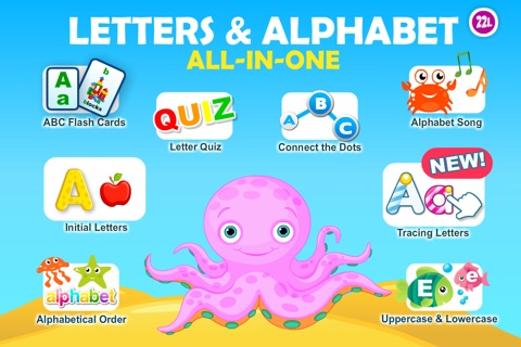 Letter Quiz Preschool  Alphabet & Letters Learning screenshot 1