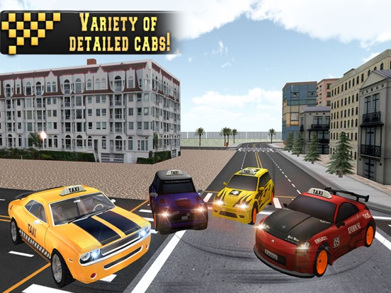 In Taxi: Drive Simulation 2016 screenshot 10