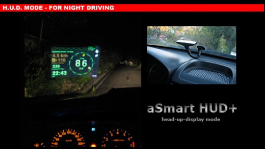 aSmart HUD +SpeedCams Screenshots