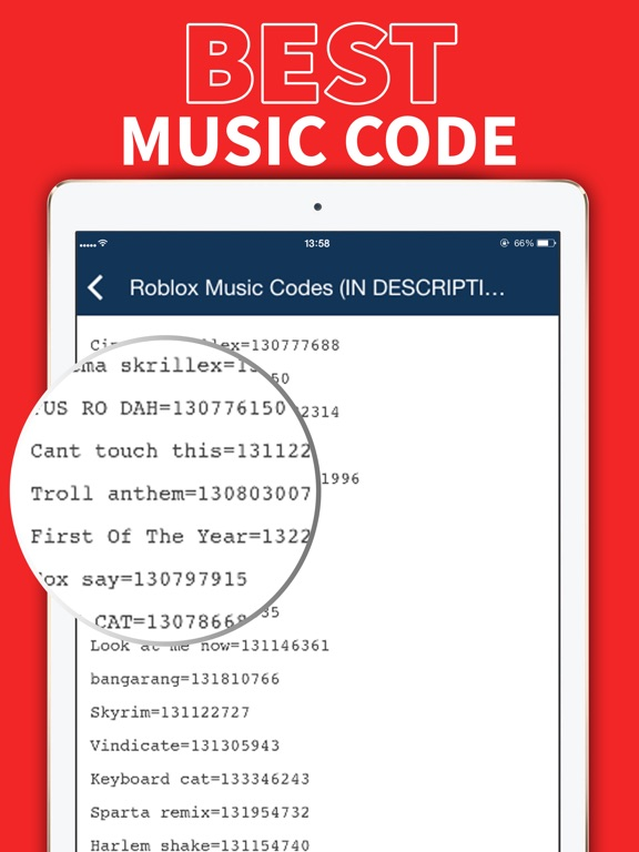 roblox codes music code lava floor app song strucidcodes ios ipad screenshots iphone robux