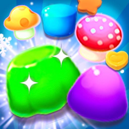 Jelly Big Blast Land:Free Match-3 Games iOS App