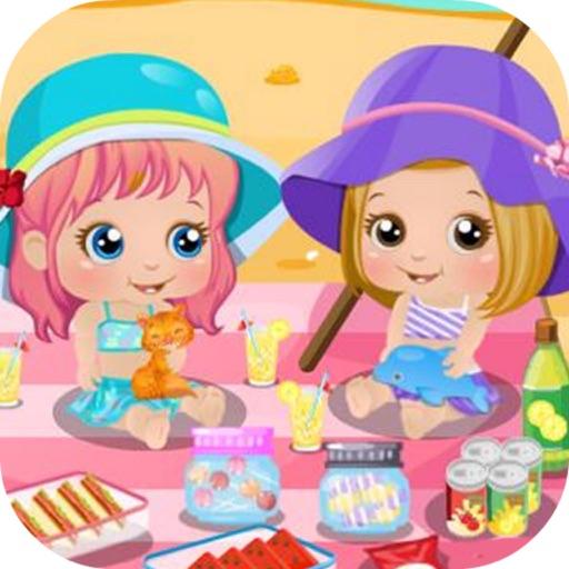 Baby Alice Beach Day iOS App