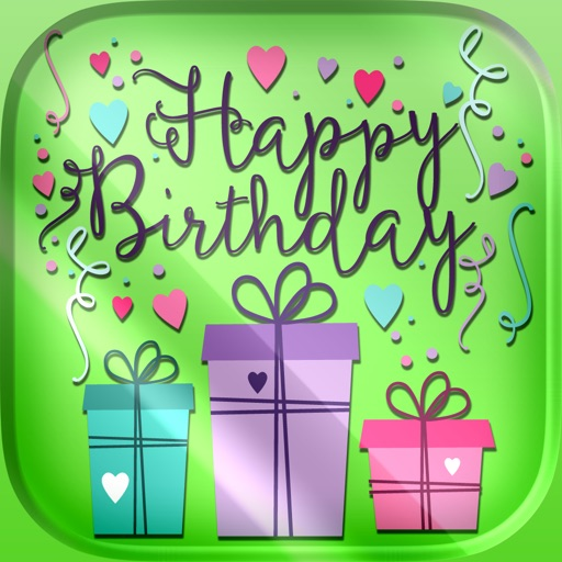 Happy Birthday Cards – Free Bday e.Card.s Maker Icon