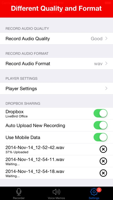 download Voice Recorder - HD Audio Recording & Playback appstore review