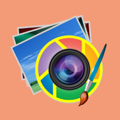 Photo Editor Lite -filters,face effects on you fb foto via aol,pinterest,linkedin,hotmail,paypal icon
