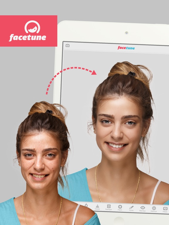 Facetune for iPad Screenshots