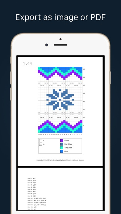 Knitting Journal App : Knitcharts on the app store
