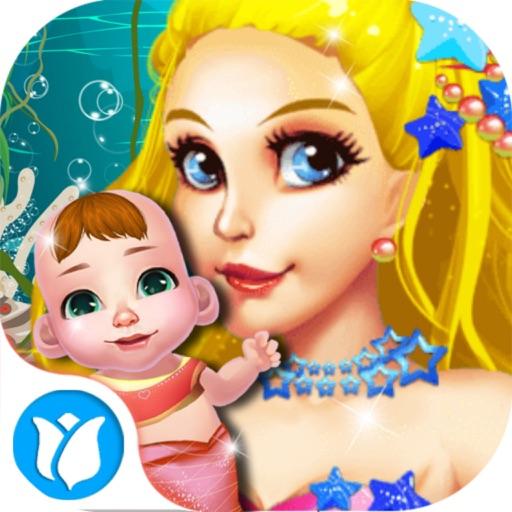 Mermaid Lady's Baby Born iOS App