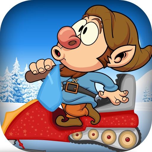 Seven Dwarfs Snowmobile Racing: Winter Mayhem Outside the Mine FREE! iOS App